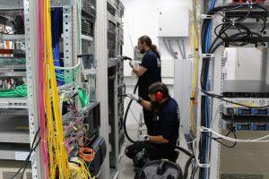 Reinigung der kritischen IT Infrastrukturen
